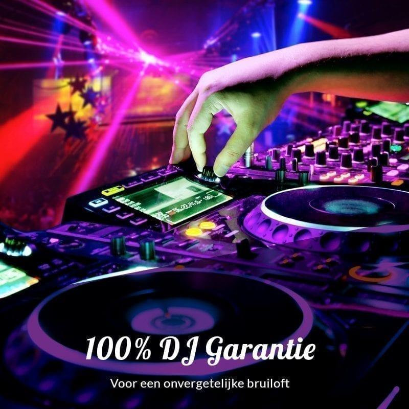 100 procent dj garantie